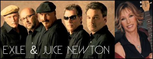 Exile with Juice Newton - July 18th at Equus Run