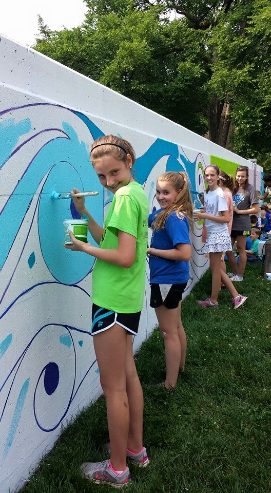 Floodwall Mural Celebration