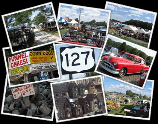 "127 Yard Sale - ""The World's Longest Yard Sale"" - August 6-9, 2015"
