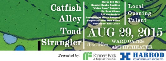 Capital City Blues & River Festival Banner - 8-29-15