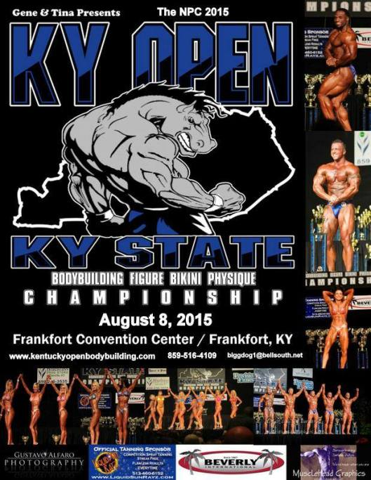 KY Open State Bodybuilding Championship - 8-8-15