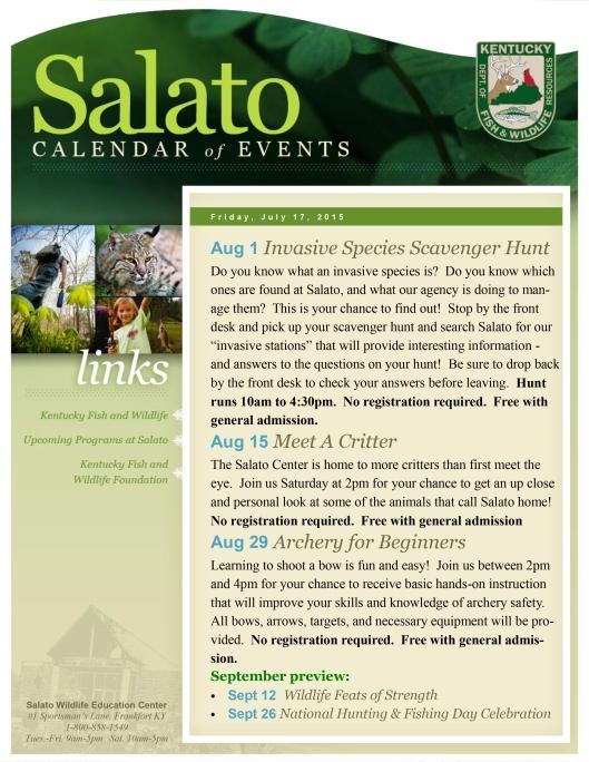 Salado COE August 2015