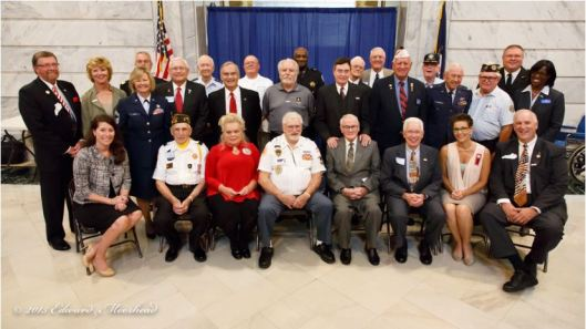 2015 KY Veterans Hall of Fame Inductees