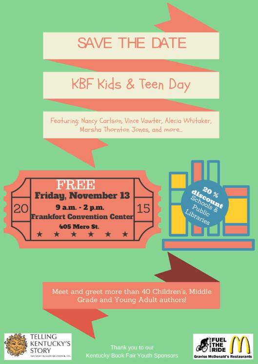 Kentucky Book Fair Kids & Teens - 11-13-15