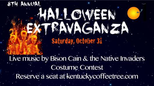 8th Annual Halloween Extravaganza at the Coffeetree Cafe - 10-31-15