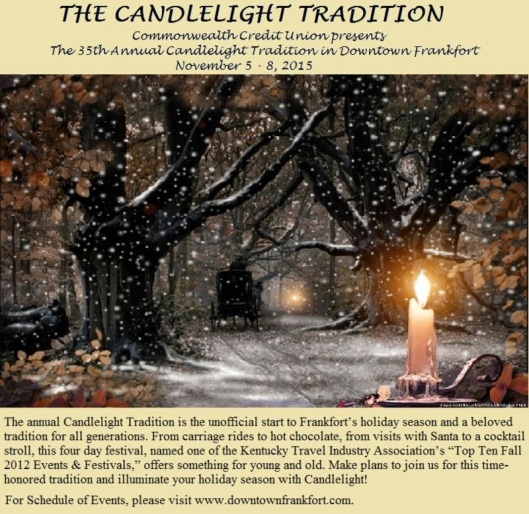 Candlelight Tradition - November 5-8