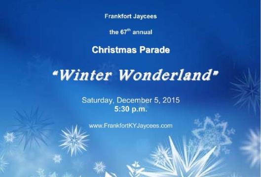 Frankfort Jaycees Christmas Parade - 12-6-15