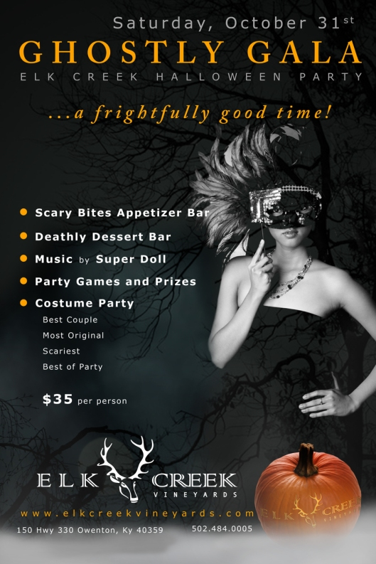 Ghostly Gala at Elk Creek Vineyard - 10-31-15
