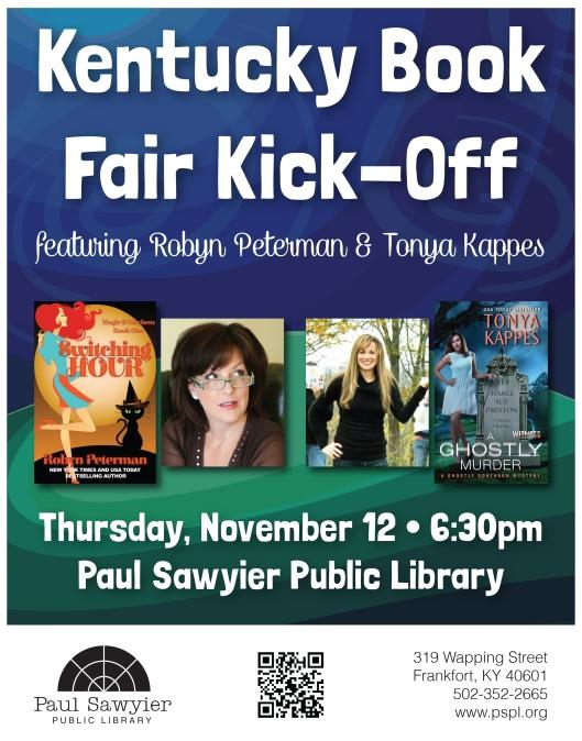 Kentucky Book Fair Kick Off at the PSPL - 11-12-15