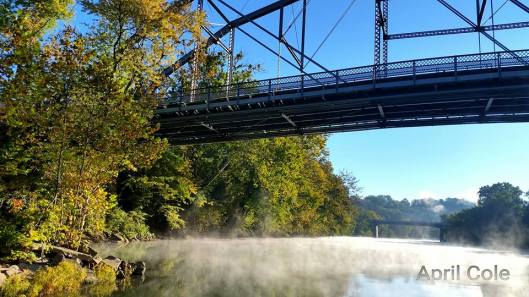 Kentucky River Fog by April Cole