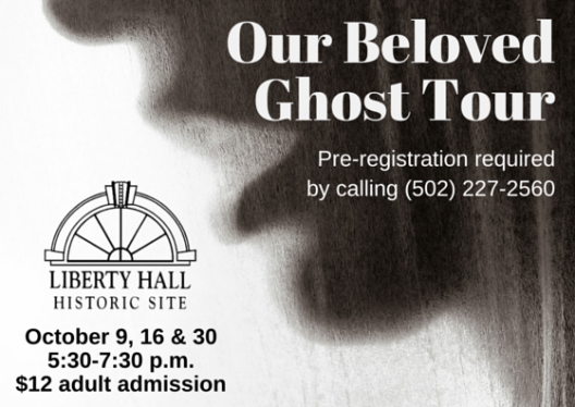 Our Beloved Ghost Tours at Liberty Hall - October 2015
