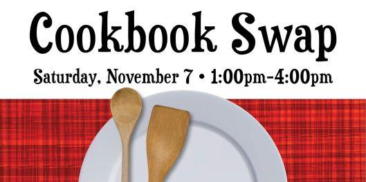 Cookbook Swap at the PSPL - 11-7-15