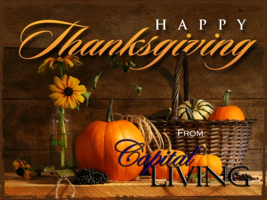 Happy Thanksgiving from Capital Living