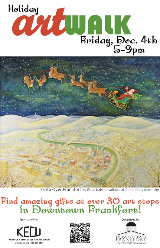 Holiday ArtWalk - 12-4-15