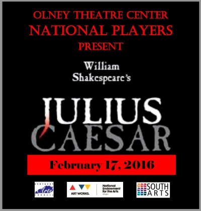 Julius Caesar at the Grand Theatre - 2-17-16