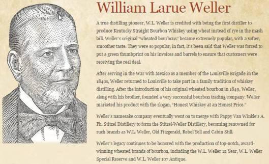 Legendary Craftsmen Dinner Series - William LaRue Weller - 1-15-16