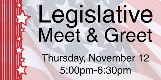 Legislative Meet & Greet - 11-12-15
