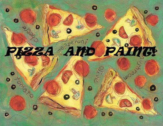 Pizza & Paint! at Full Circle - 12-12-15