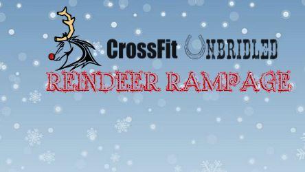 Reindeer Rampage at CrossFit Unbridled - 12-12-15