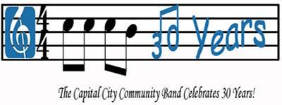 The Capital City Community Band Celebrates 30 Years - 11-5-15
