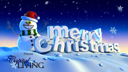 Merry Christmas from Capital Living