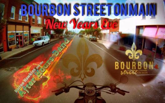 New Year's Eve at Bourbon Street on Main - 12-31-15