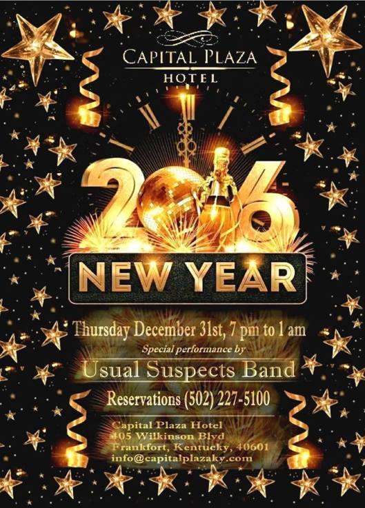 New Year's Eve at the Capital Plaza Hotel B - 12-31-15