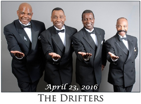 The Drifters at the Grand Theatre - 4-23-16