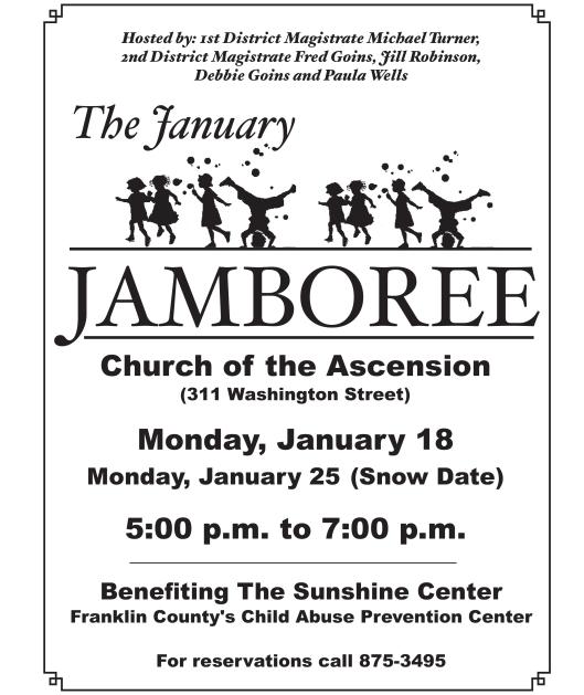 2016 Jill's Jamboree Poster - 1-18-16