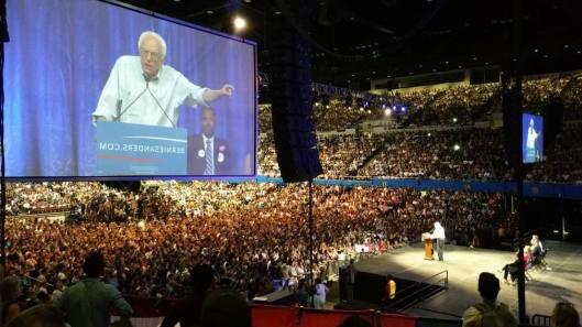 Bernie Sanders Organizing Rally - 1-31-16