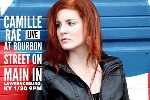 CAMILLE RAE Live at Bourbon Street on Main - 1-30-16