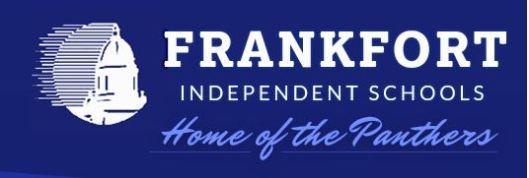 Frankfort Independent School Logo