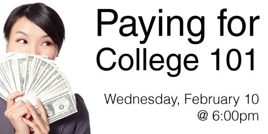 Paying for College 101 at the Paul Sawyier Public Library - 2-10-16