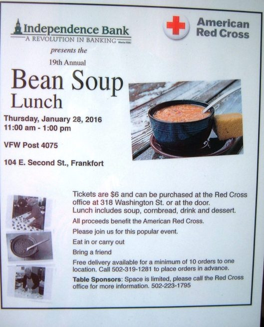 Red Cross Bean Soup sponsored by Independence Bank - 1-28-16