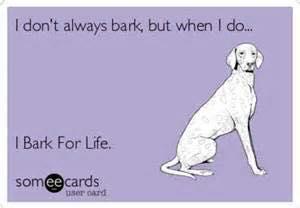 Bark for Life at Upper Cove Springs Park - 4-30-16