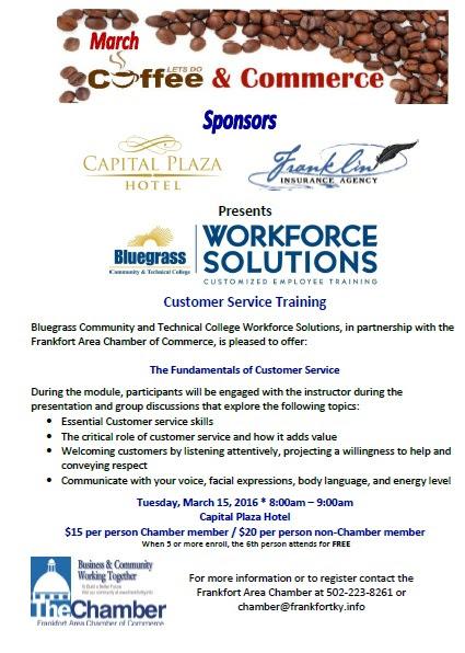Chamber of Commerce Customer Service Training - 3-15-16