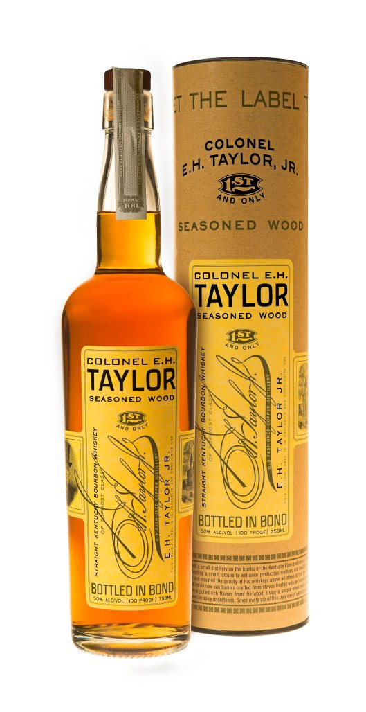 EH Taylor Seasoned Wood Bottle & Canister at Buffalo Trace Distillery