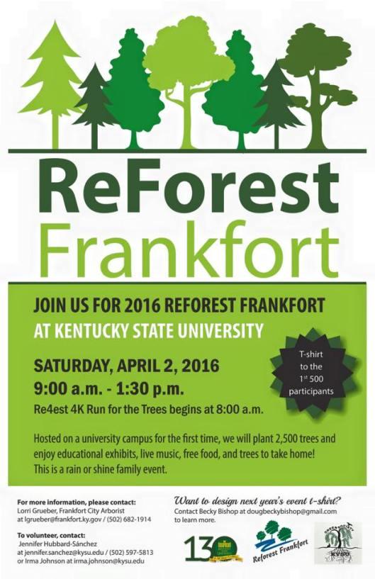 ReForest Frankfort at KSU - 4-2-16
