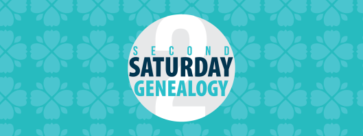 Second Saturday Genealogy Header