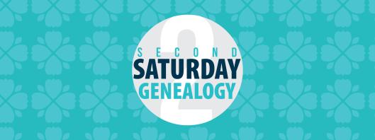 Second Saturday Genealogy Header