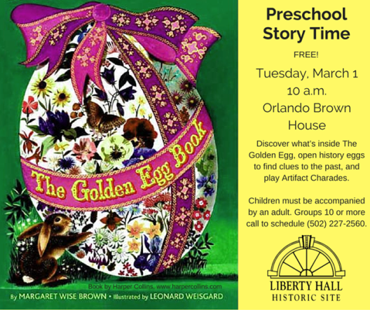 Storytime at Liberty Hall - 3-1-16