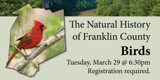The Natural History of Franklin County - Birds - 3-29-16