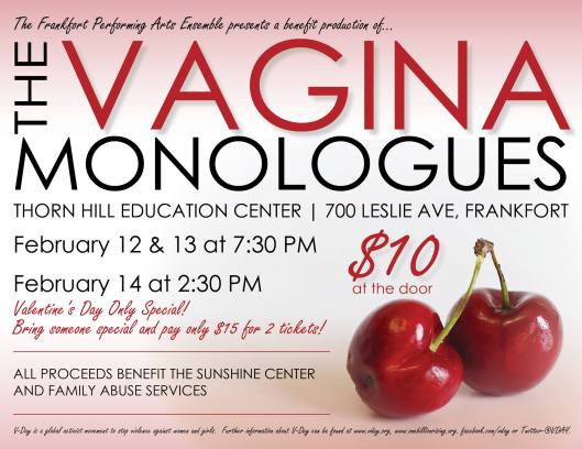 The Vagina Monologues - 2-12-16