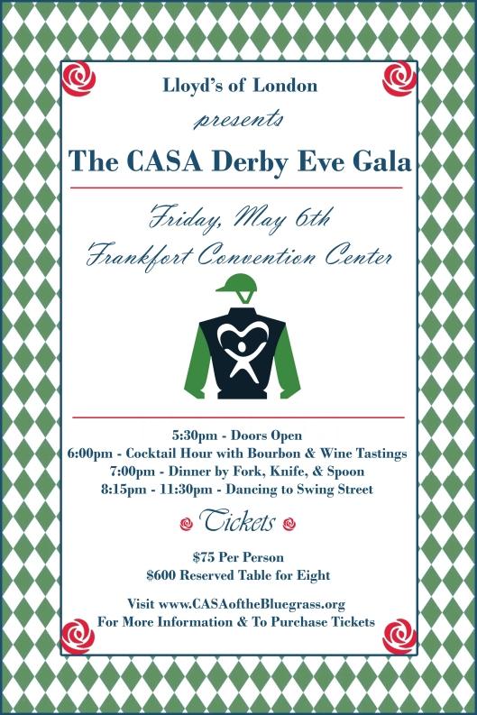 CASA Derby Eve Gala - 5-6-16