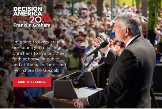 Decision America Tour with Franklin Graham - 5-4-16