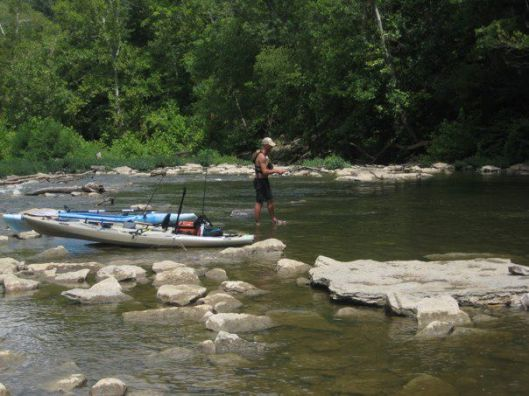 Fly Fishing on Elkhorn Creek