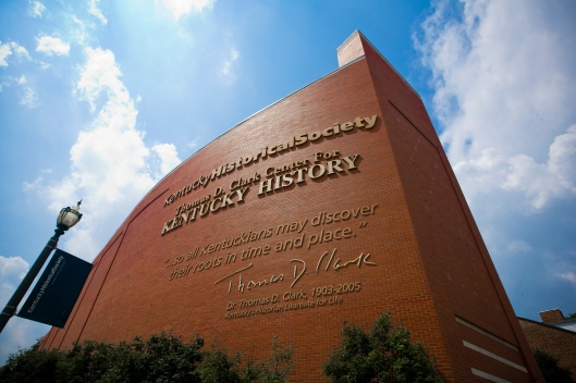 Exterior shots of the Kentucky History Center and the State Arsenal