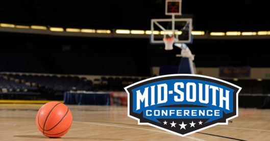 Mid South Conference Basketball Logo