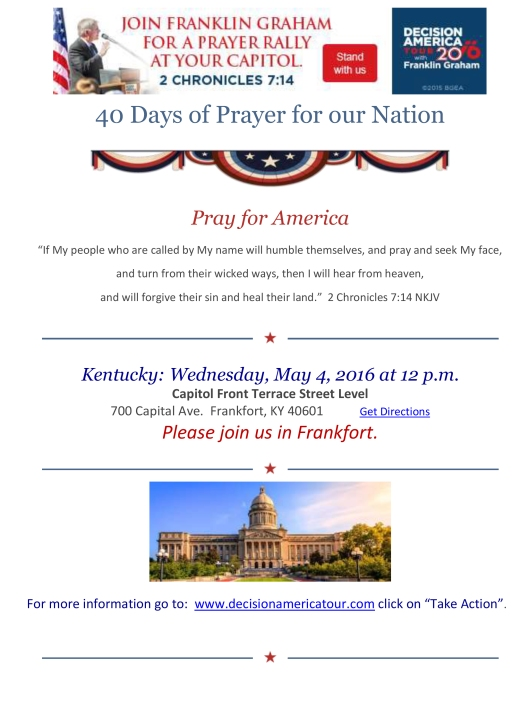 Franklin Graham Flyer - 5-4-16