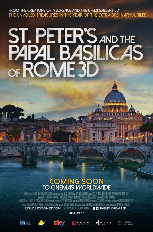 SAINT PETER'S AND THE PAPAL BASILICAS OF ROME at The Grand Theatre - 7-14-16